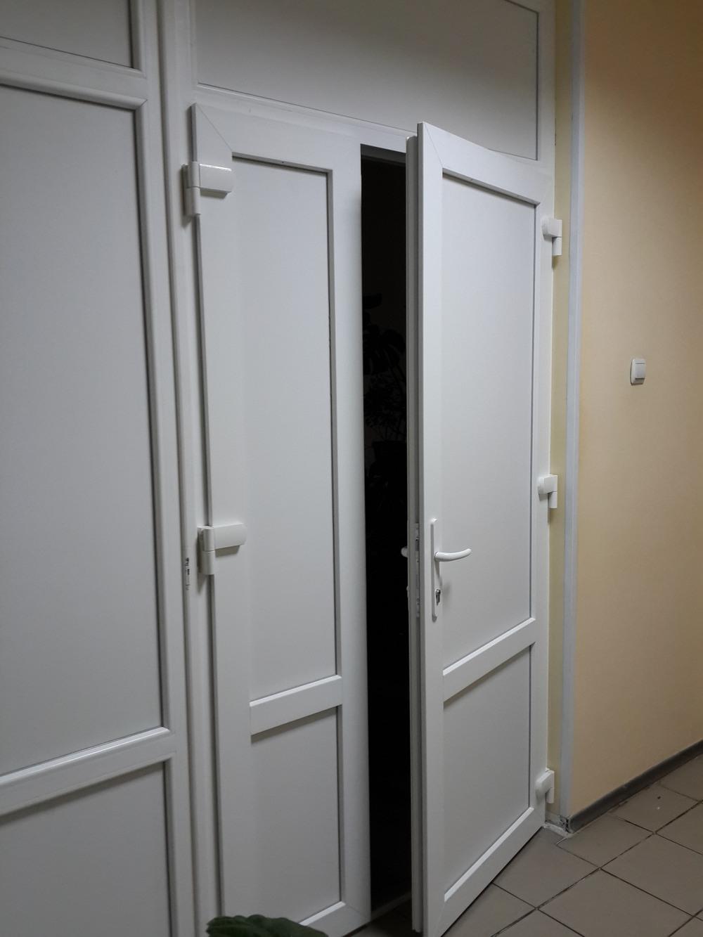 Металлопластиковые двери в г. Сумы