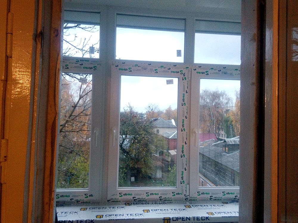 пластикові вікна Steko