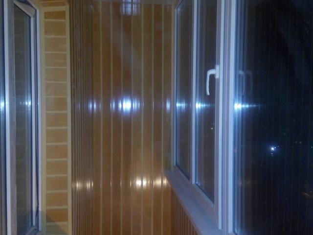 обшивка балкона в Сумах