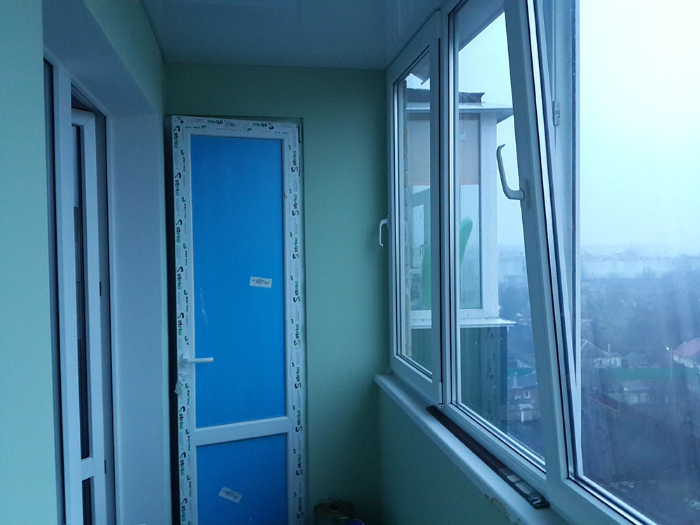 внутренняя отделка балкона Сумы