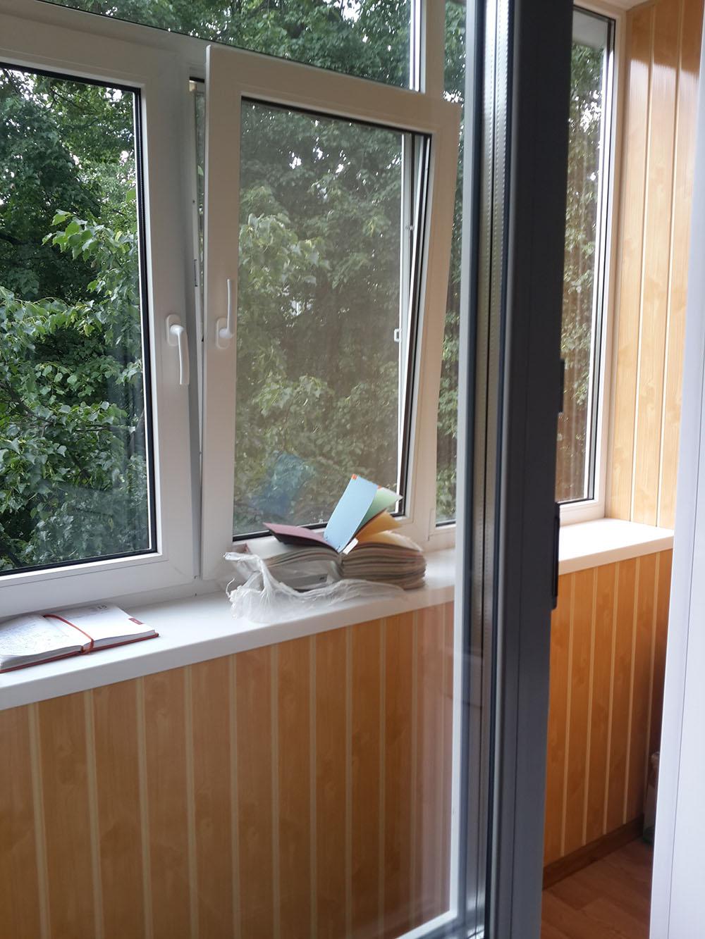 обшивка балкона Сумы