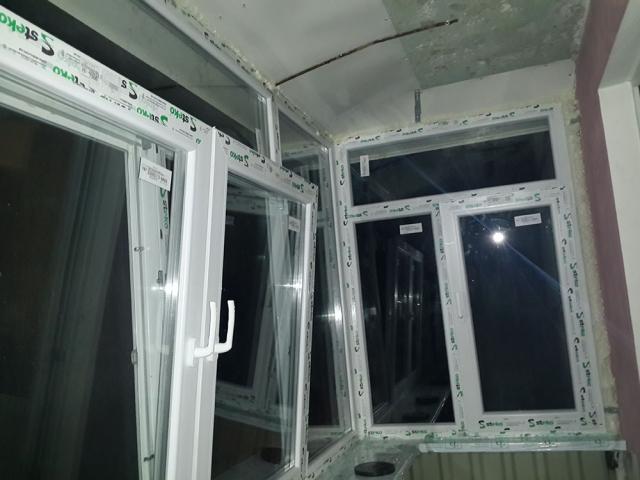 отделка балкона в Сумах