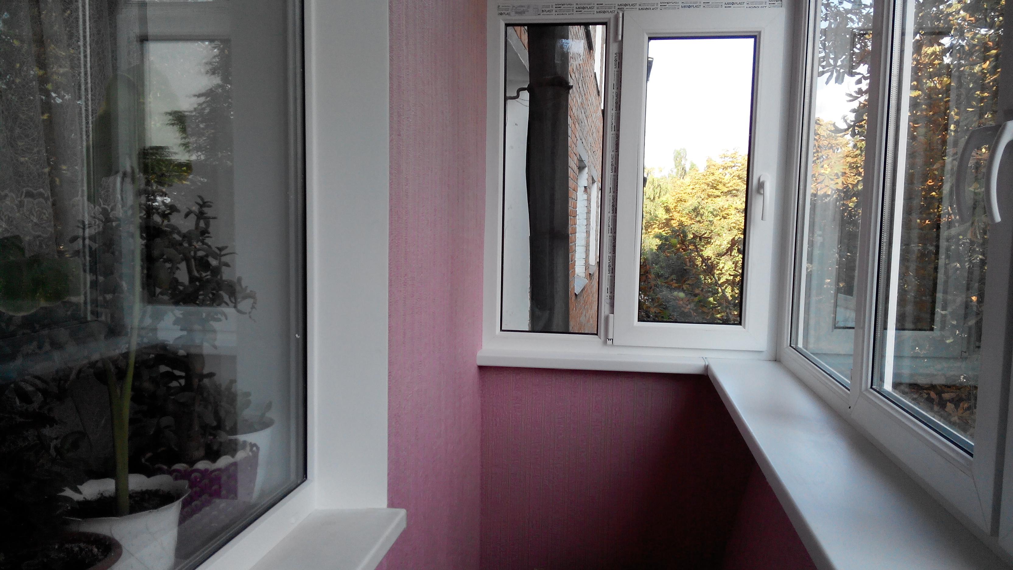 Остекление балкона (лоджии) Сумы — ДОКА ПЛЮС