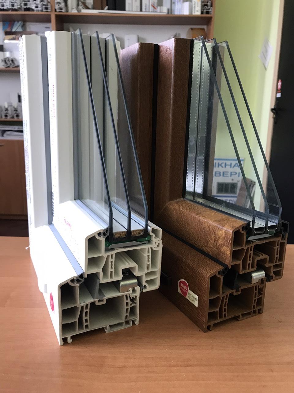 пластиковые окна Rehau Geneo Сумы