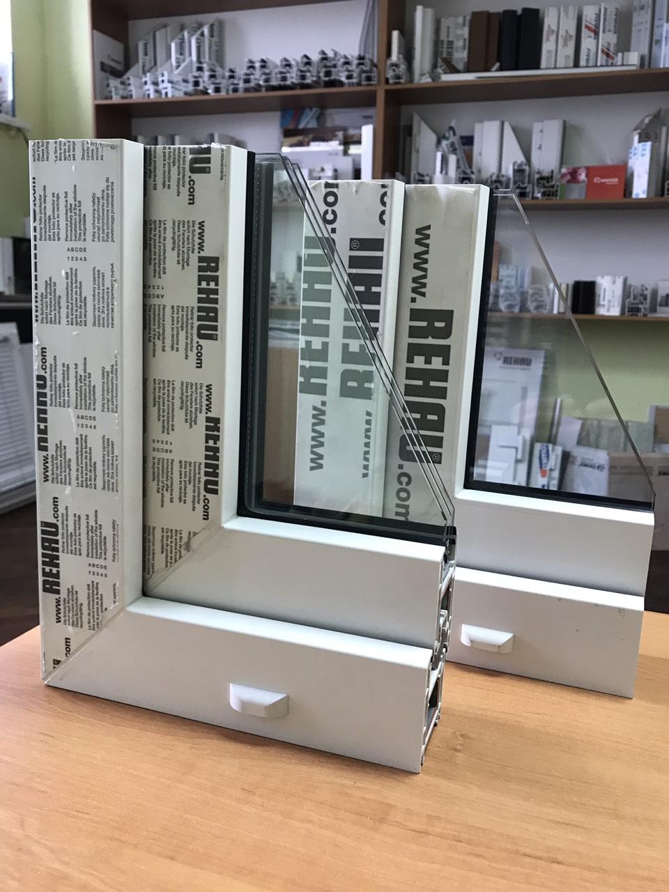Окна ПВХ Rehau Euro-Design 60 Сумы