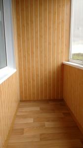 Внутренняя отделка балкона6