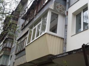 Наружная отделка балкона9