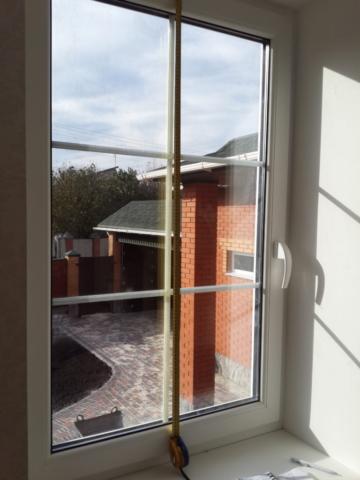 Окно со шпросами