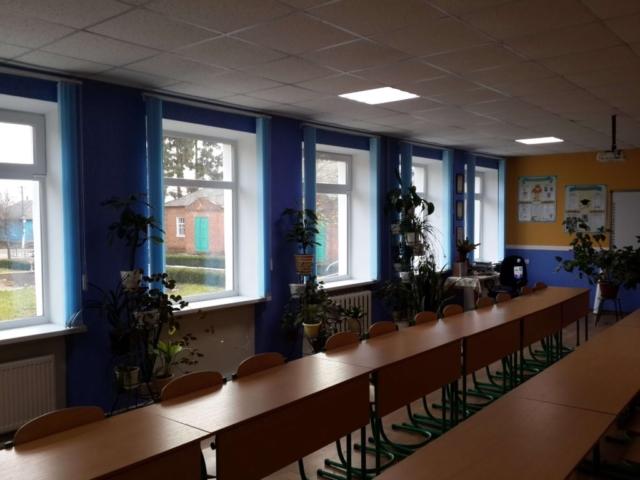 Вертикальные жалюзи школа