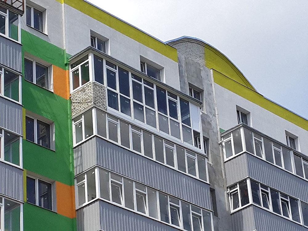 Балкон под ключ в Сумах