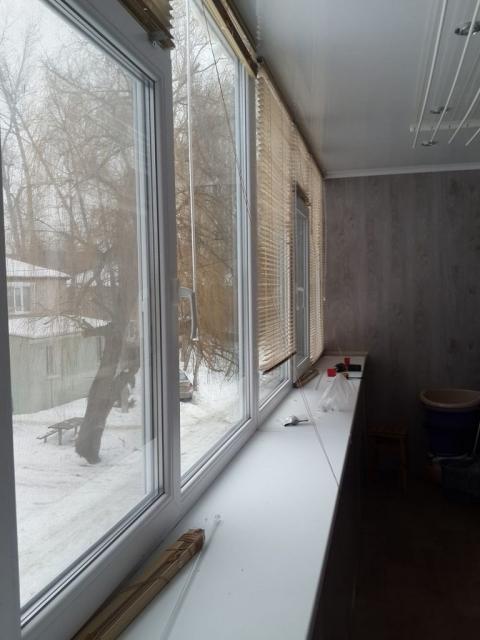 жалюзи на балконе