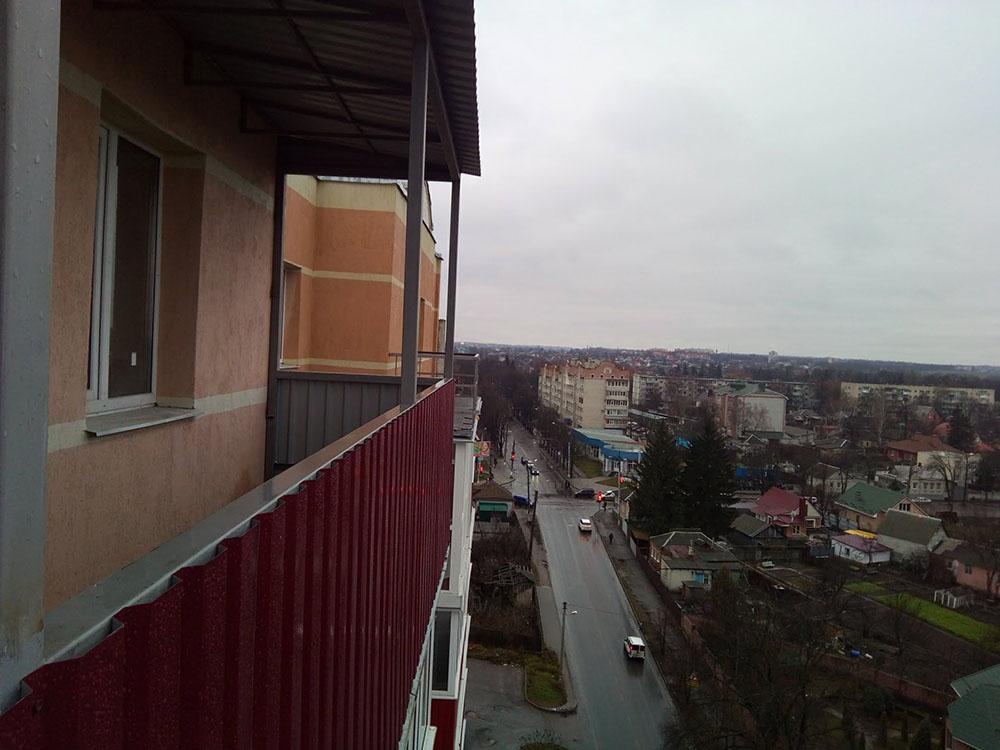 ремонт балкона в Сумах