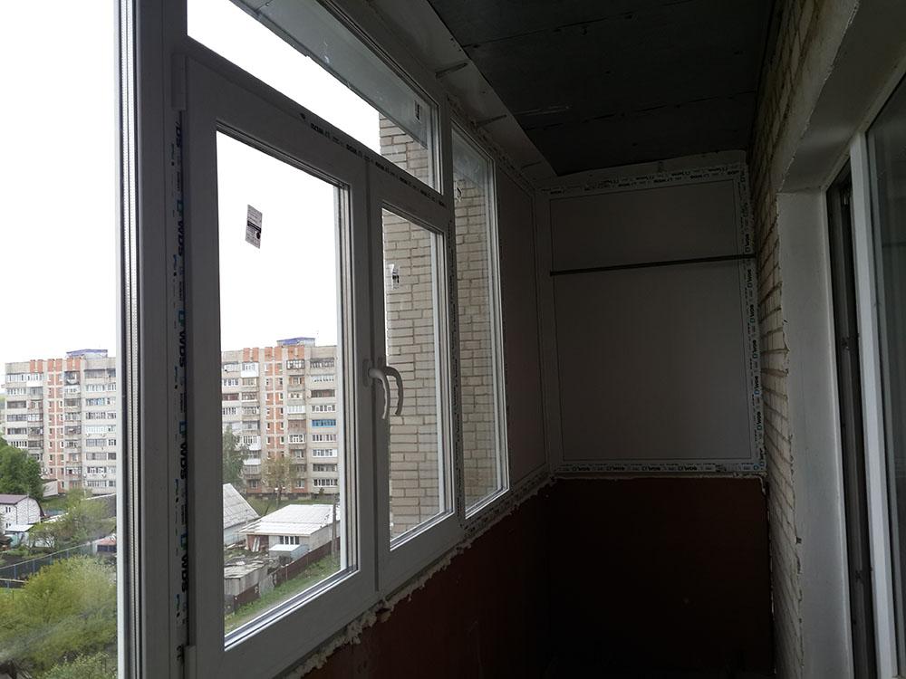 отделка балкона Сумы