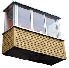 Обшивка балкона (лоджии) - Дока Плюс