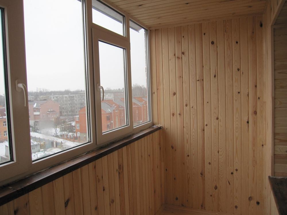 Балконы под ключ