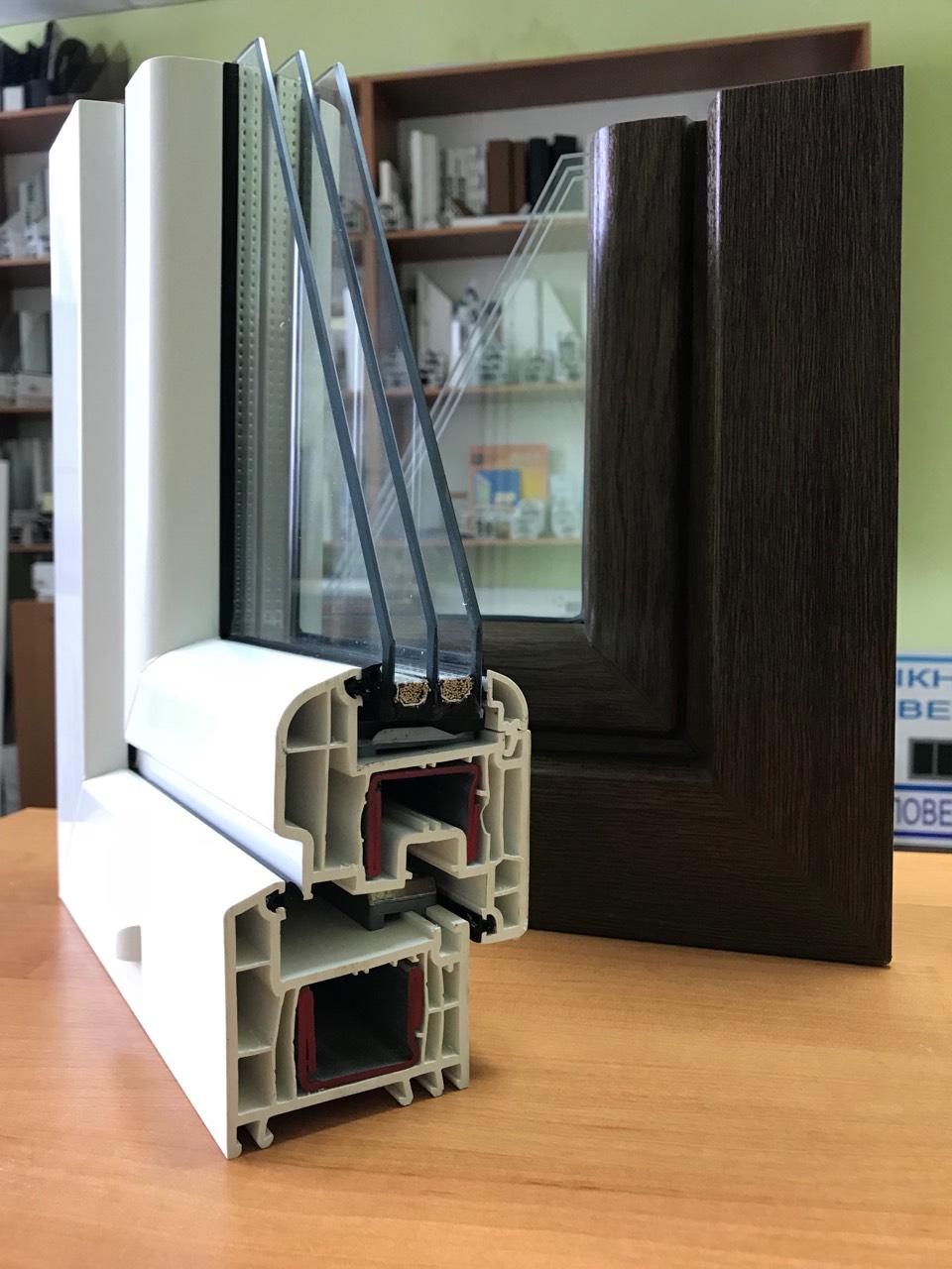 окна REHAU Brillant-Design Сумы
